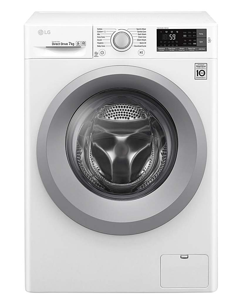 Image of LG 7KG 1200RPM Washing Machine White