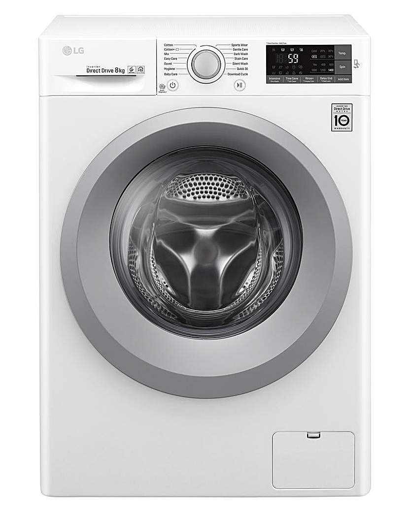 Image of LG 8kg 1400RPM Washing Machine