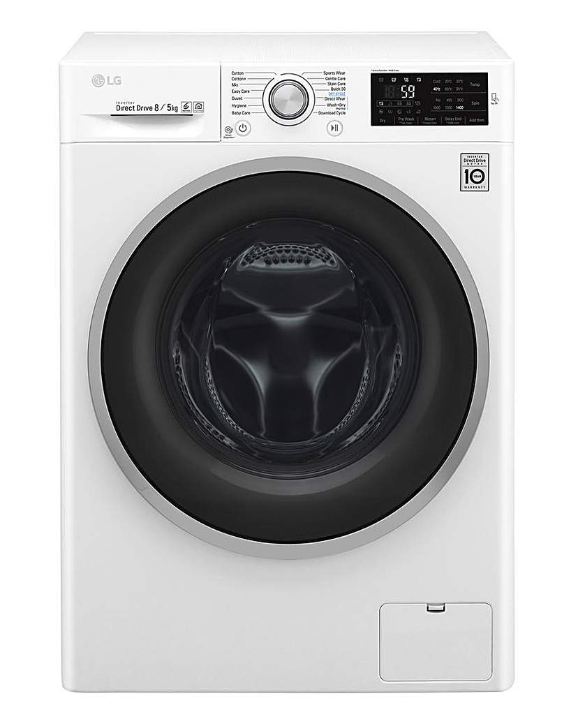 Image of LG 8+8kg 1400RPM Smart Washer Dryer
