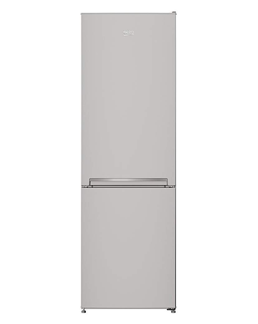 BEKO 70/30 Fridge Freezer Silver