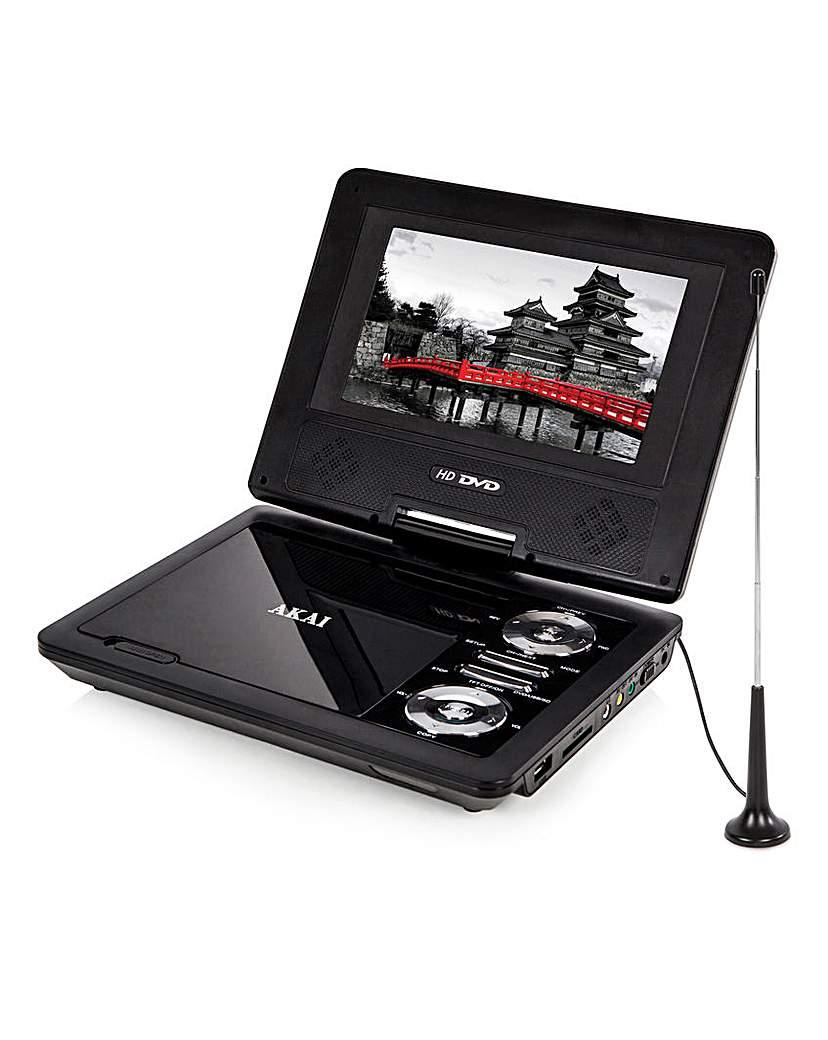AKAI 7 Inch Portable DVD Player