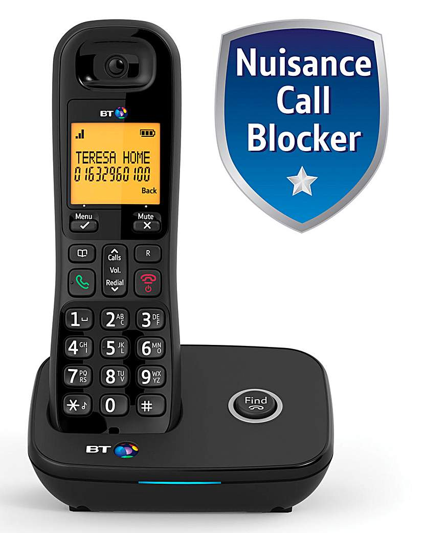 BT 1200 Single Cordless Home Phone