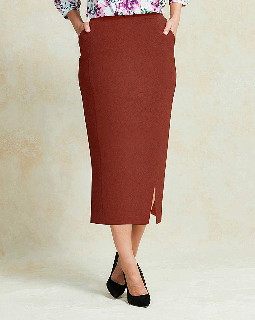 1950s Skirts for Sale: Poodle, Pencil, and Circle Skirts Smart Tailored Pencil Skirt £20.00 AT vintagedancer.com