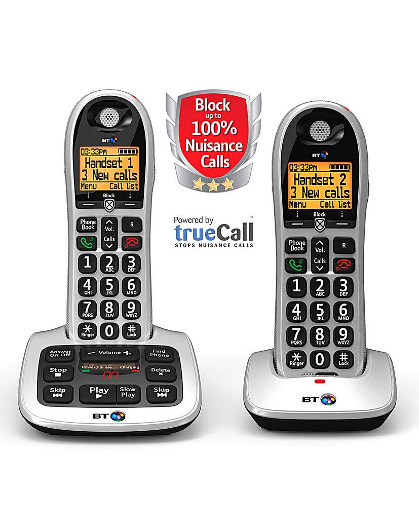 BT4600 Premium NCB Twin Home Phone