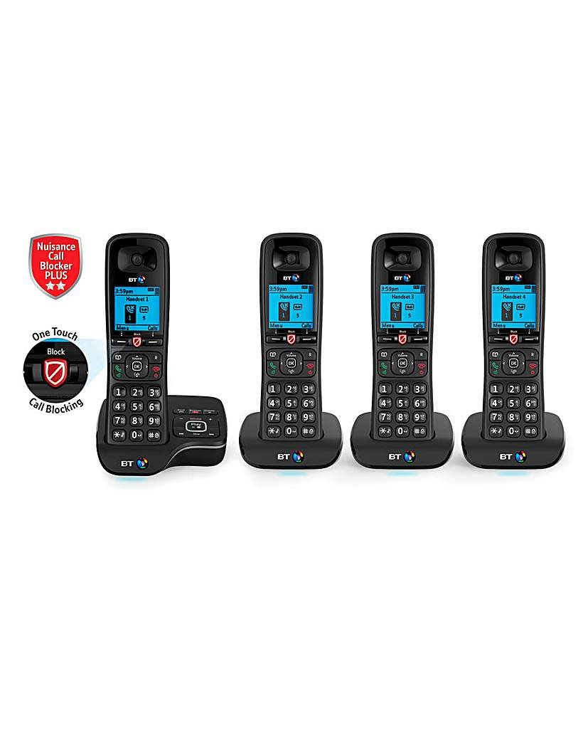 BT6600 NCB Quad Home Phone