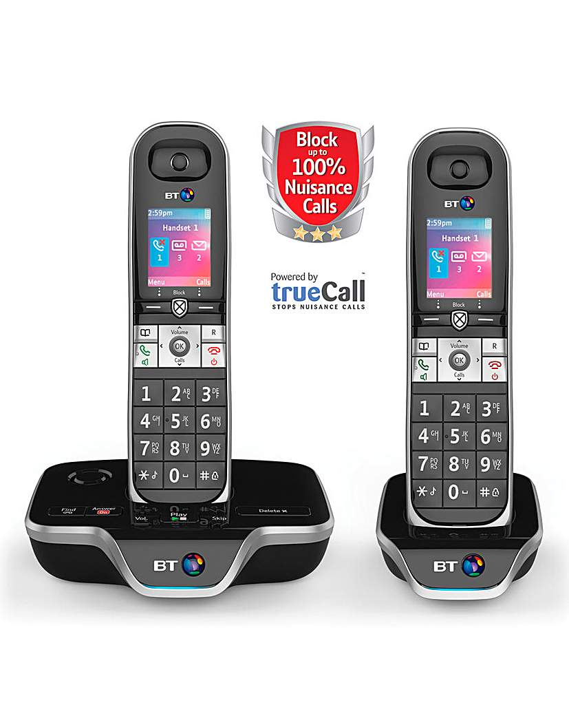 BT8600 Premium NCB Twin Home Phone