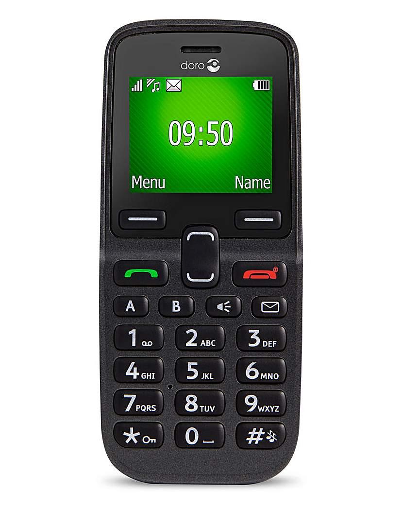 Doro 5030 Easy Mobile Phone Graphite