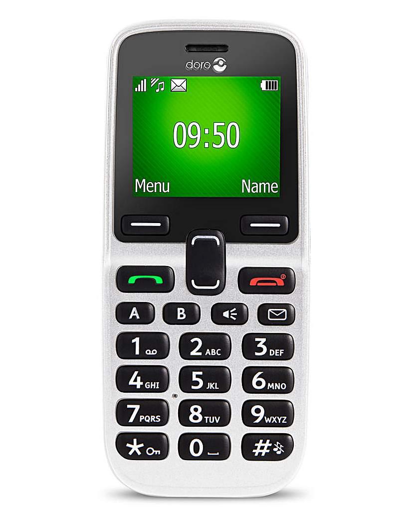 Doro 5030 Easy Mobile Phone White