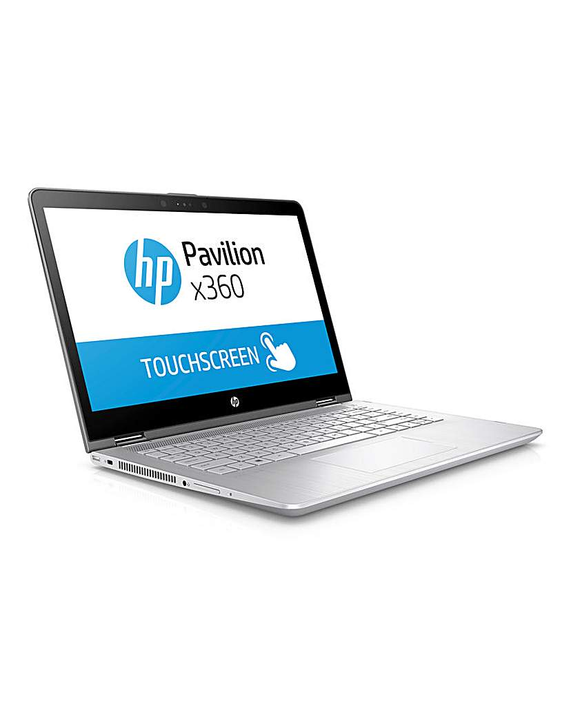HP 14 Touch i3 128Gb SSD Laptop Silver