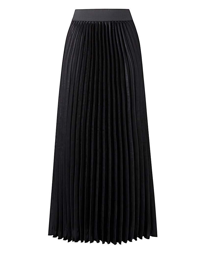 1920s Style Skirts Sunray Pleat Maxi Skirt £30.00 AT vintagedancer.com
