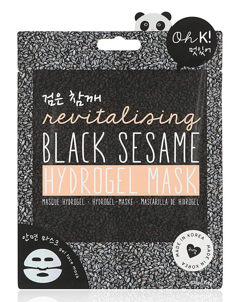 Image of Oh K! Black Sesame Hydrogel Mask