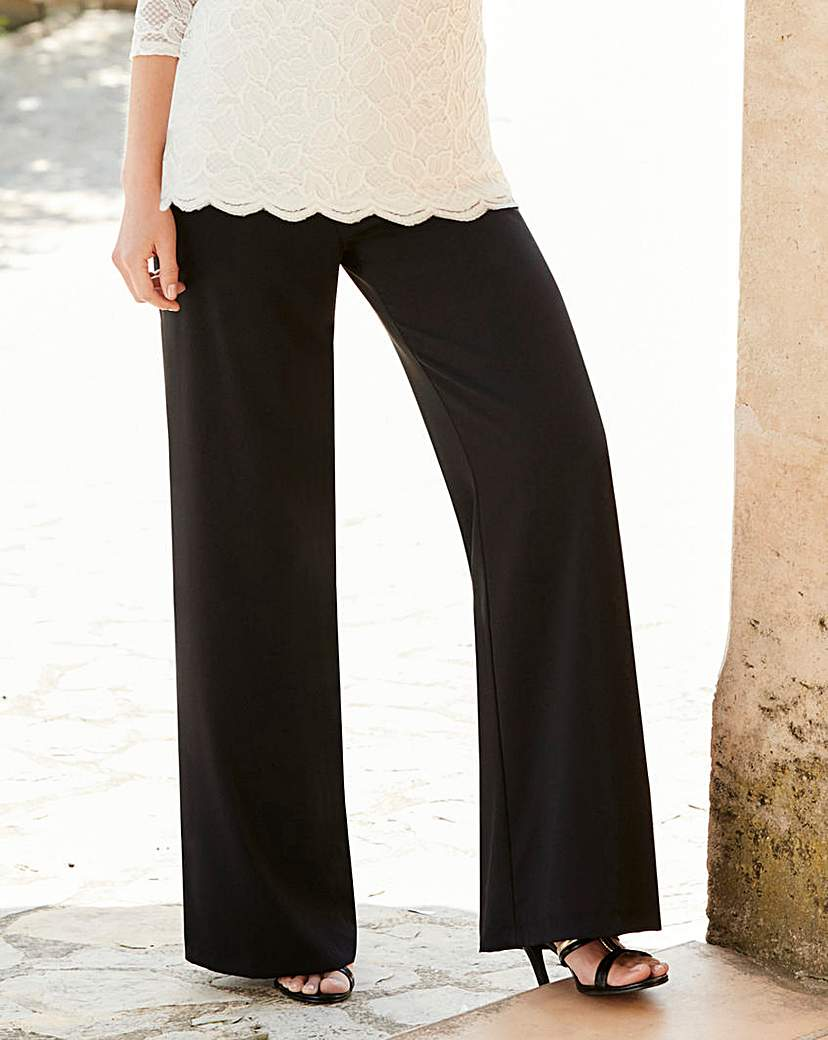 Image of Nightingales Chiffon Trousers