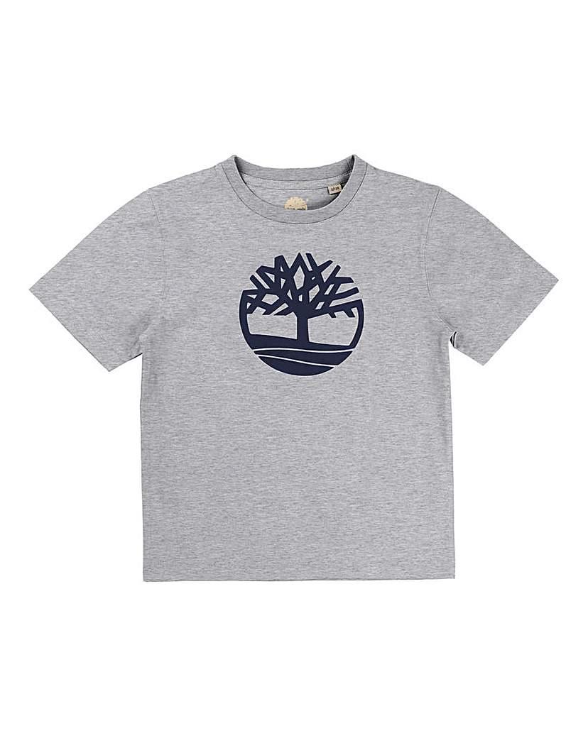 Timberland Boys Grey Core Logo T-Shirt
