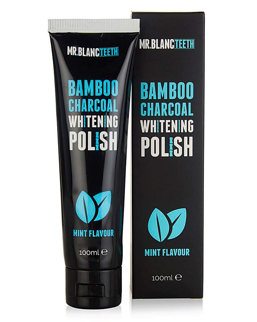 Mr Blanc Bamboo Charcoal Tooth Polish