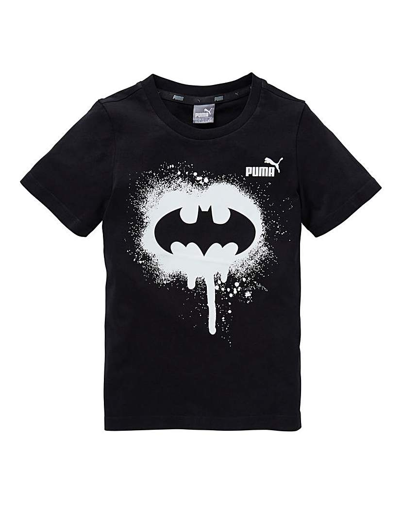 Puma Unisex Batman Glow In The Dark T-Sh.