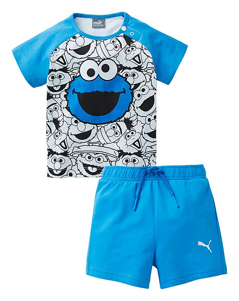Puma Baby Sesame Street Cookie Monster S.