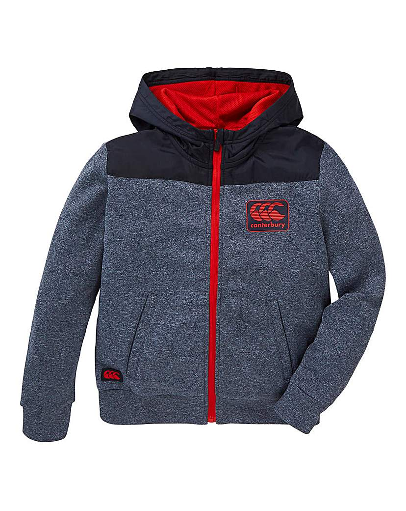 Image of Canterbury Boys Fleece Full Zip Hoodie
