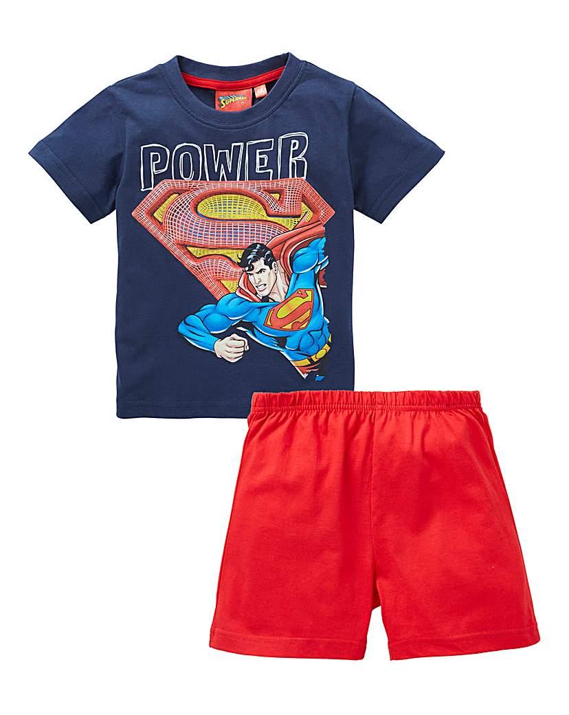 Image of Superman Boys Short Pyjamas