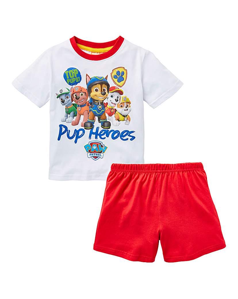 Image of Paw Patrol Boys Short Pyjamas