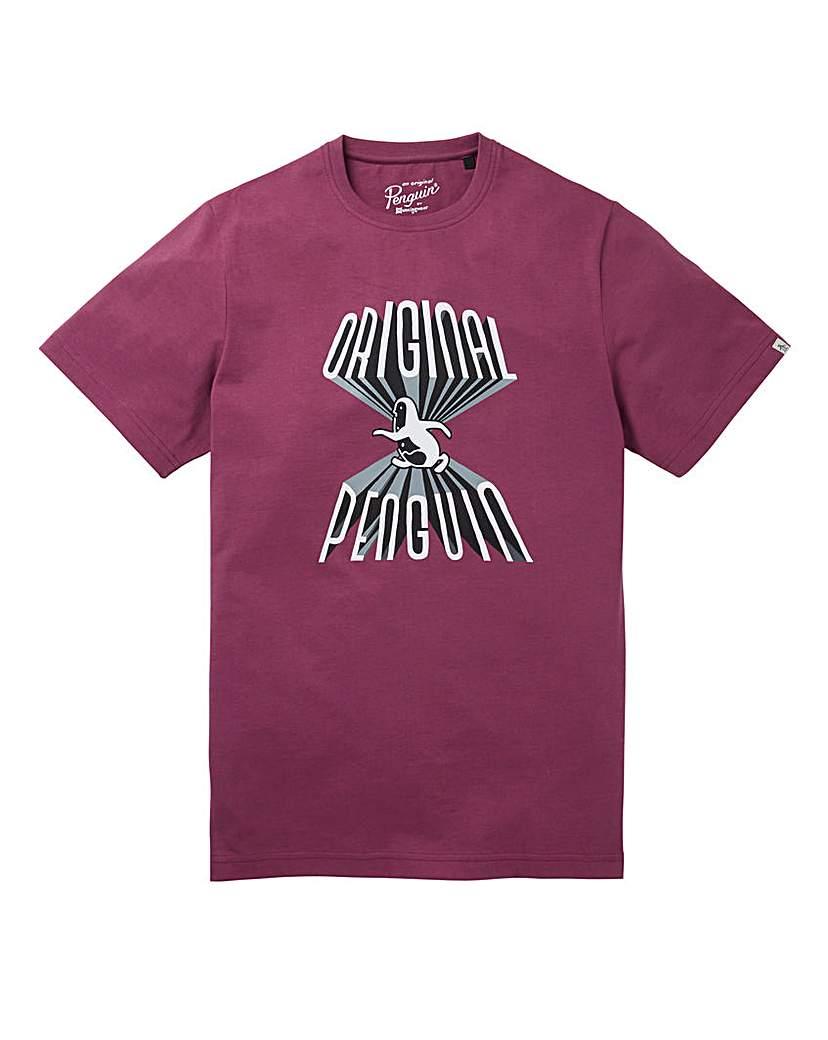 Image of Original Penguin Forbidden T-Shirt