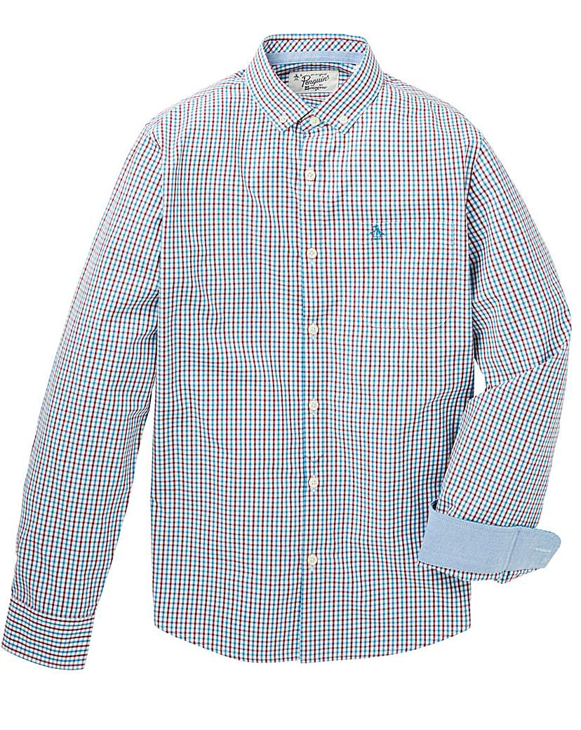 Image of Original Penguin Two Colour Gingham Shrt