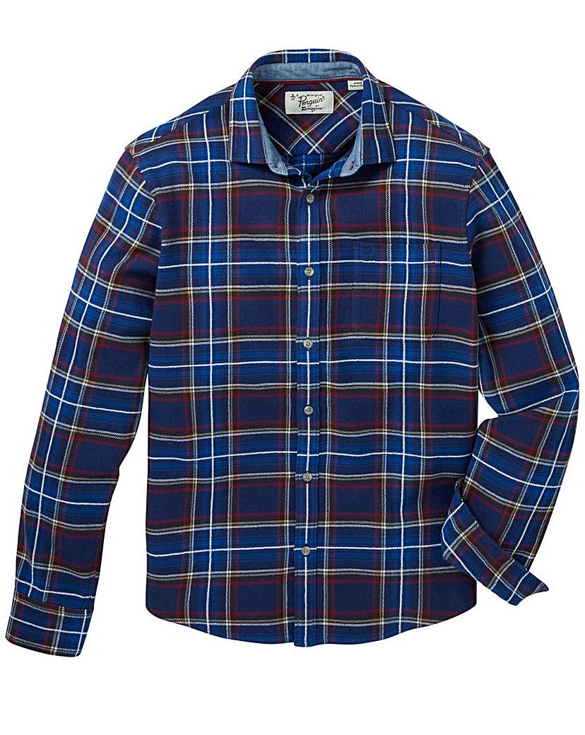 Image of Original Penguin Check Flannel Shirt
