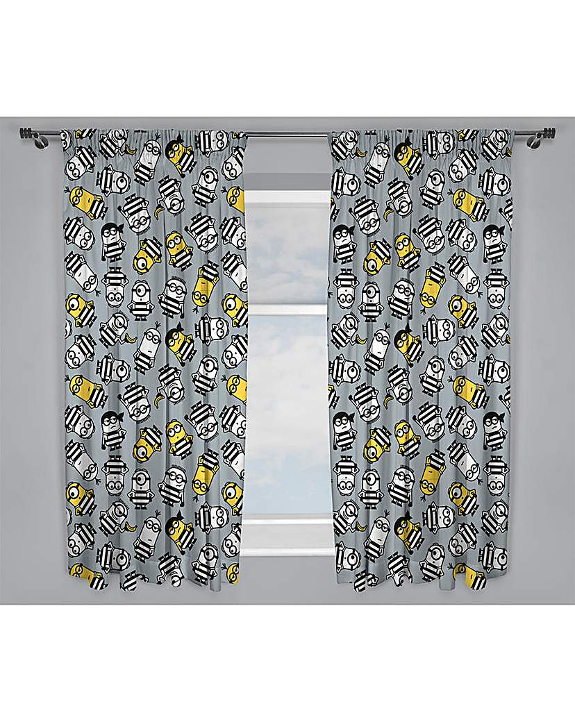 Image of Despicable Me Minions Jailbird Curtains