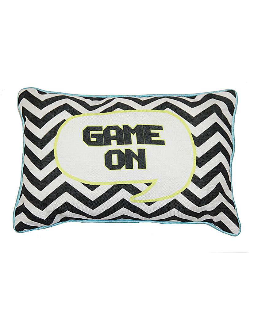 Boy's Life Game On Cushion