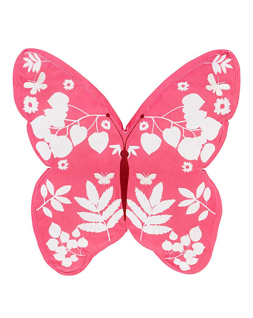 Image of Butterfly Shaped Cushion