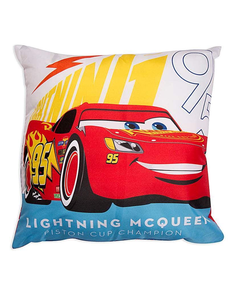 Image of Cars Lightning McQueen Square Cushion