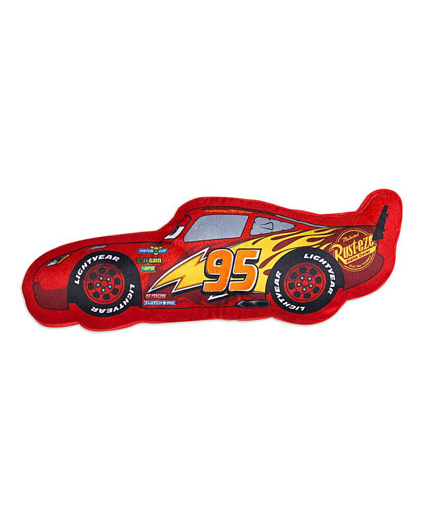 Image of Cars Lightning McQueen Shaped Cushion