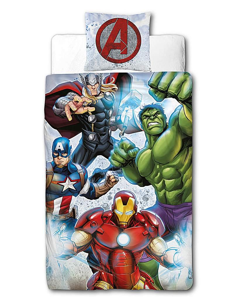 Image of Avengers Strike Personalised Duvet