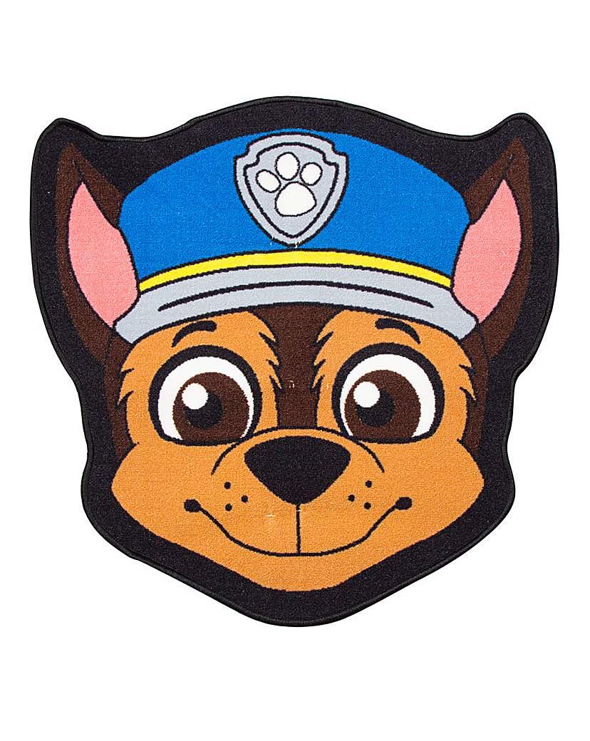 Image of Paw Patrol Spy Shaped Rug