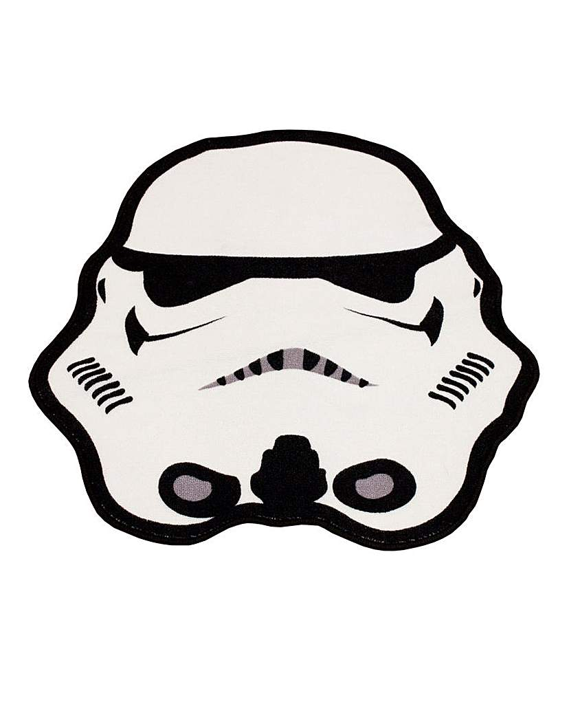 Image of Star Wars Trooper Shaped Rug