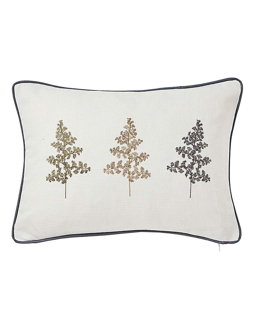 Linden Fern Green Boudoir Cushion