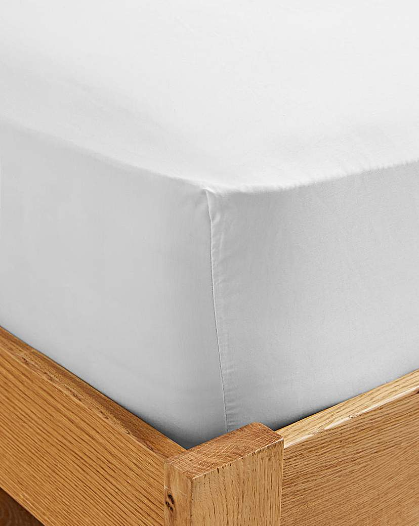 Image of 500 TC Cotton Rich Fitted Sheet