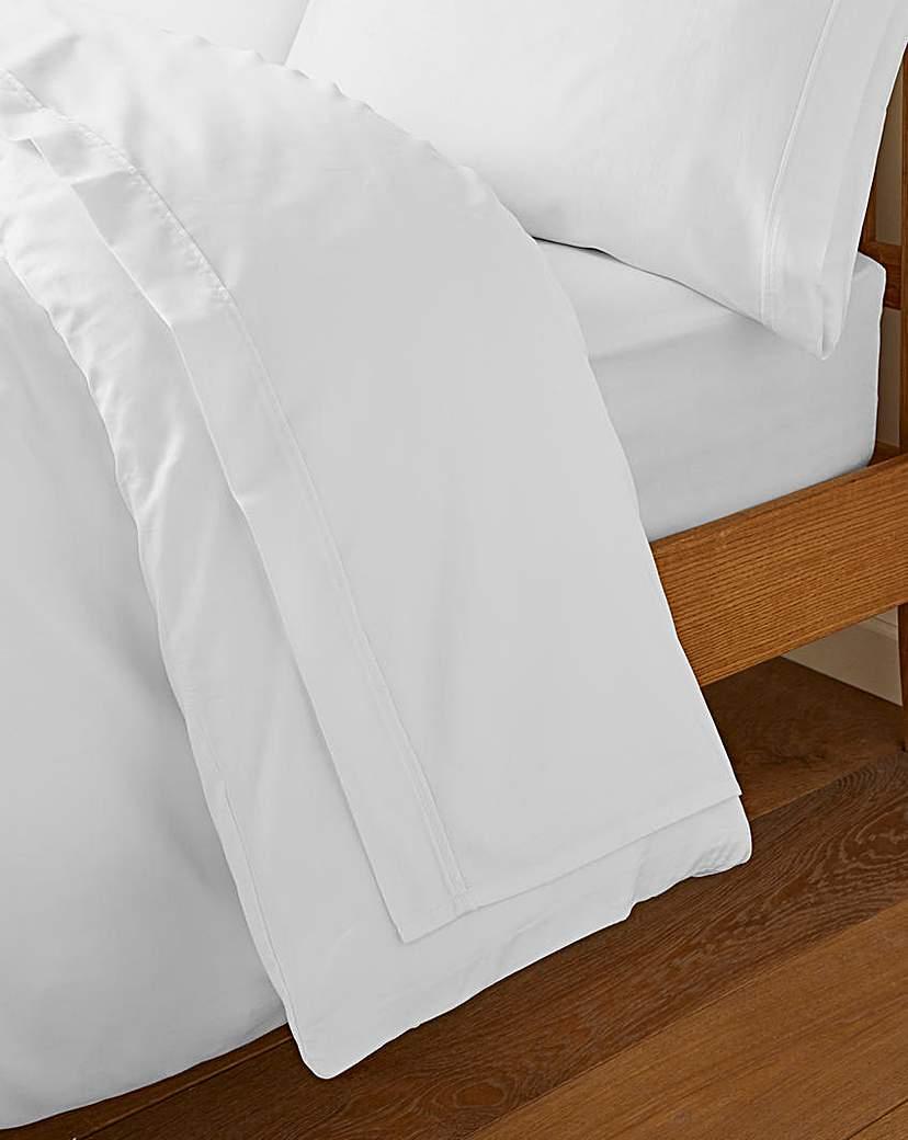 Image of 500 TC cotton Rich Flat Sheet