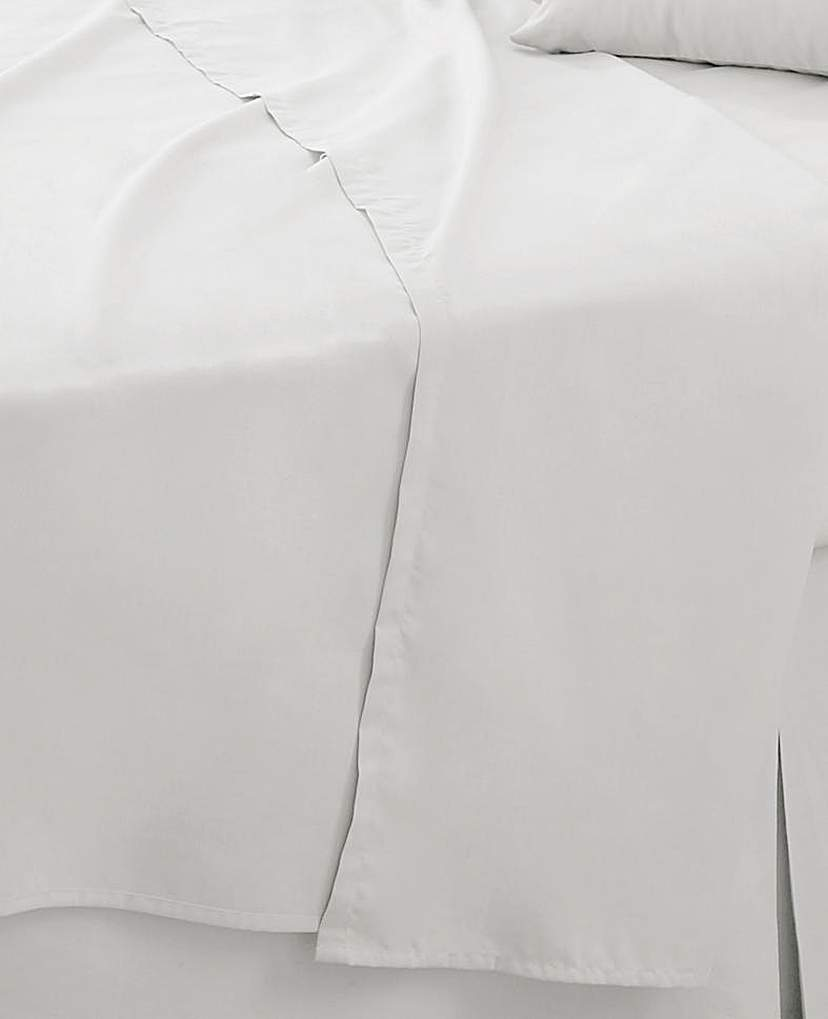 Image of Easy-Care Plain-Dyed Flat Sheet