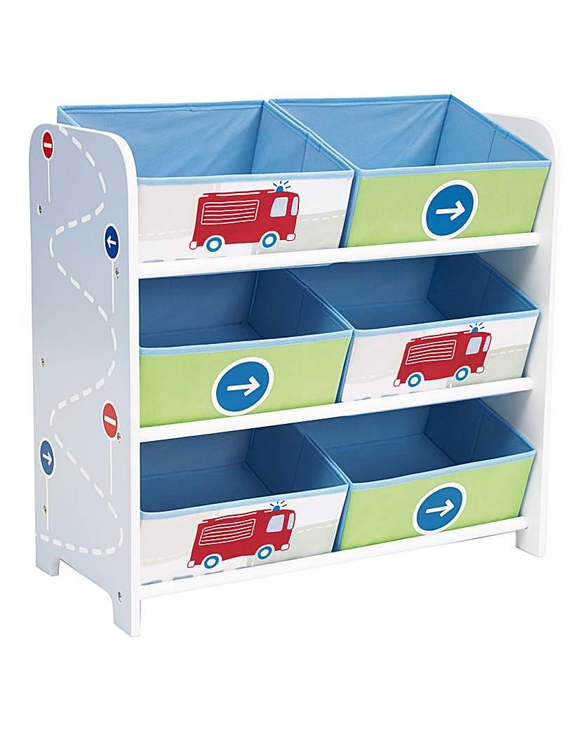 Image of Boys Vehicle Toy Storage