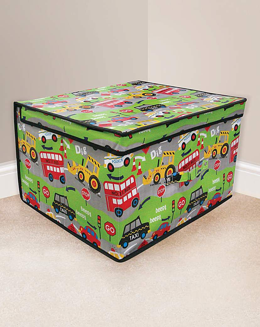 Road Works Large Storage Chest