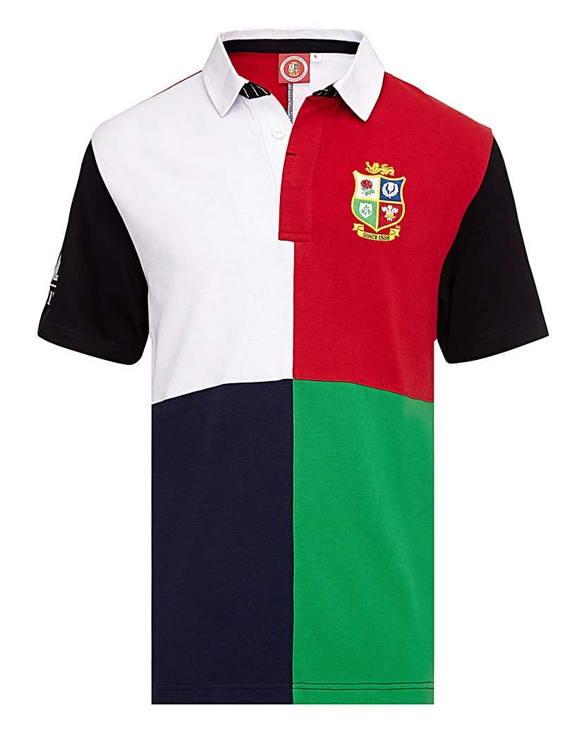 British Lions Harlequin Rugby Shirt