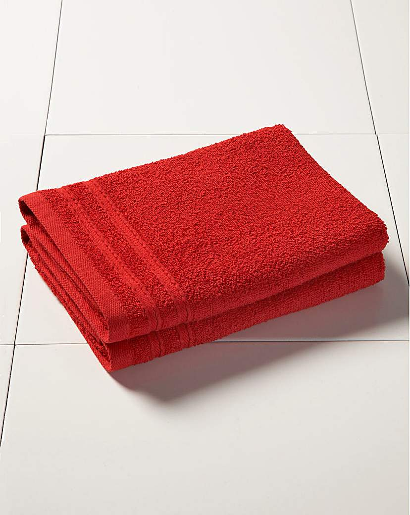 Image of Everyday Value Towel Range - Red