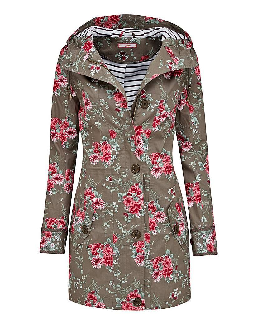 Joe Browns Fabulously Floral Raincoat