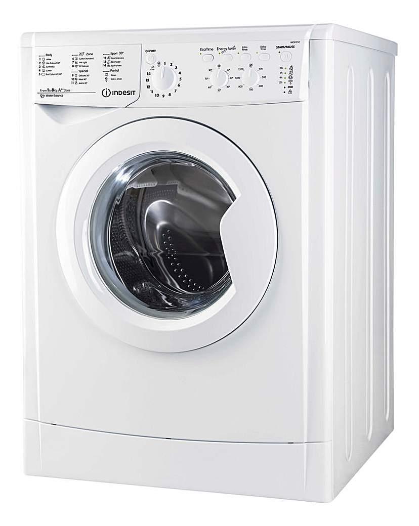 Indesit Eco 8kg LED Washer +Installation