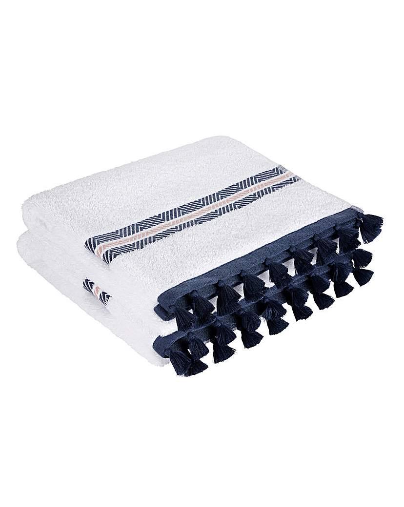Lorraine Kelly Calder Tassel Hand Towel