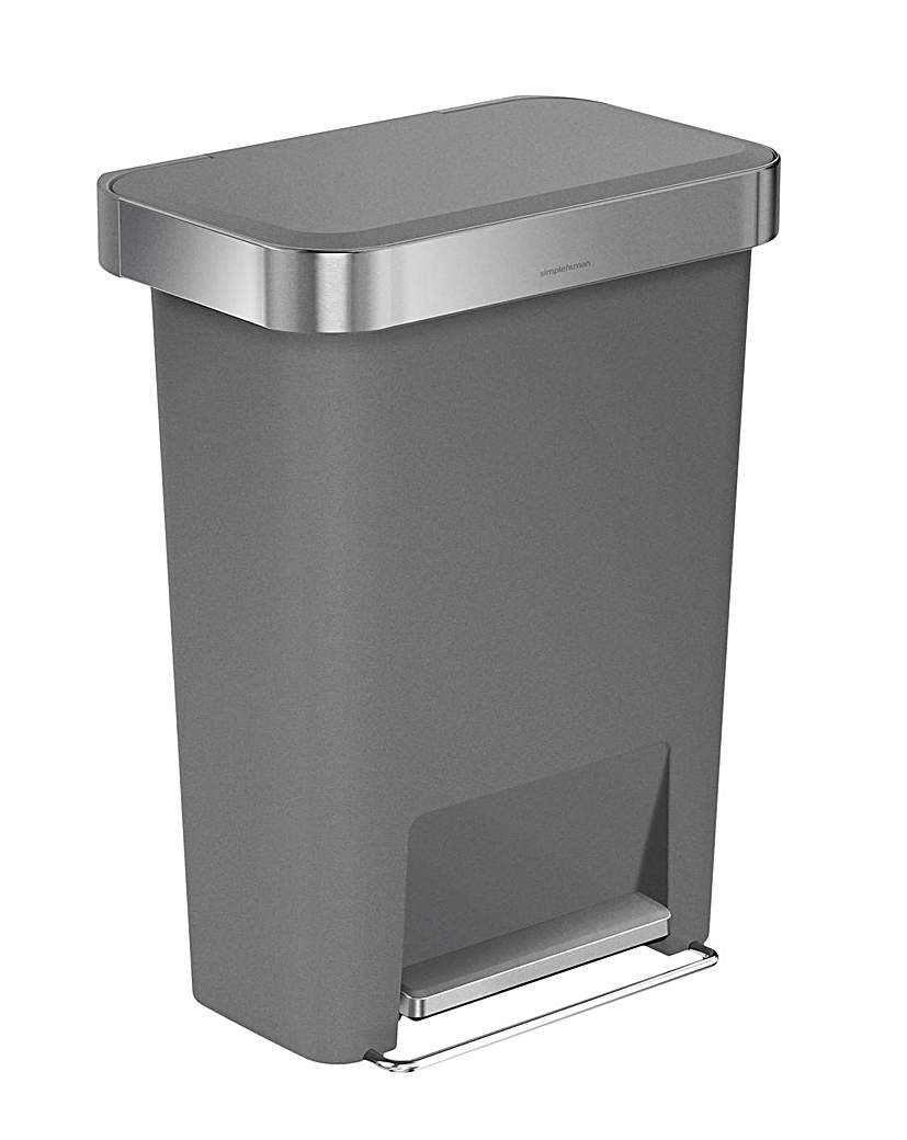 Simple Human Rectangular Pedal Bin
