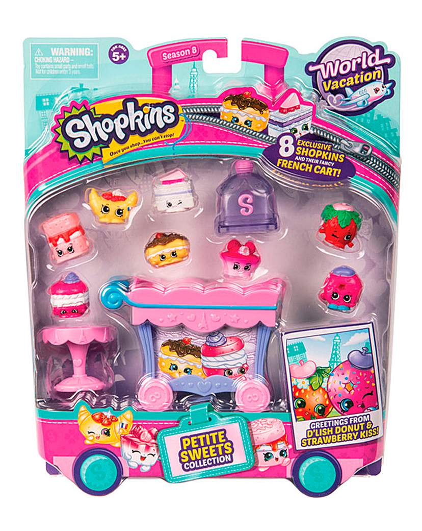 Shopkins French Sweeties Collection