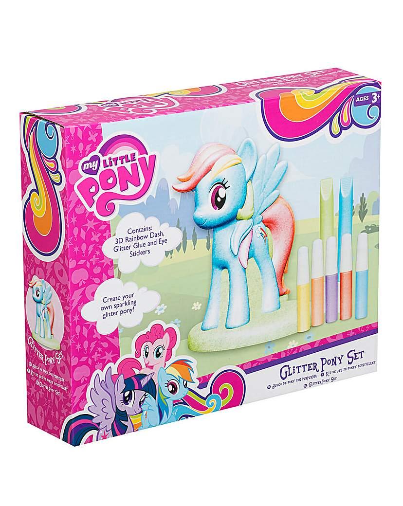 Image of My Little Pony Glitter Pony Rainbow Dash