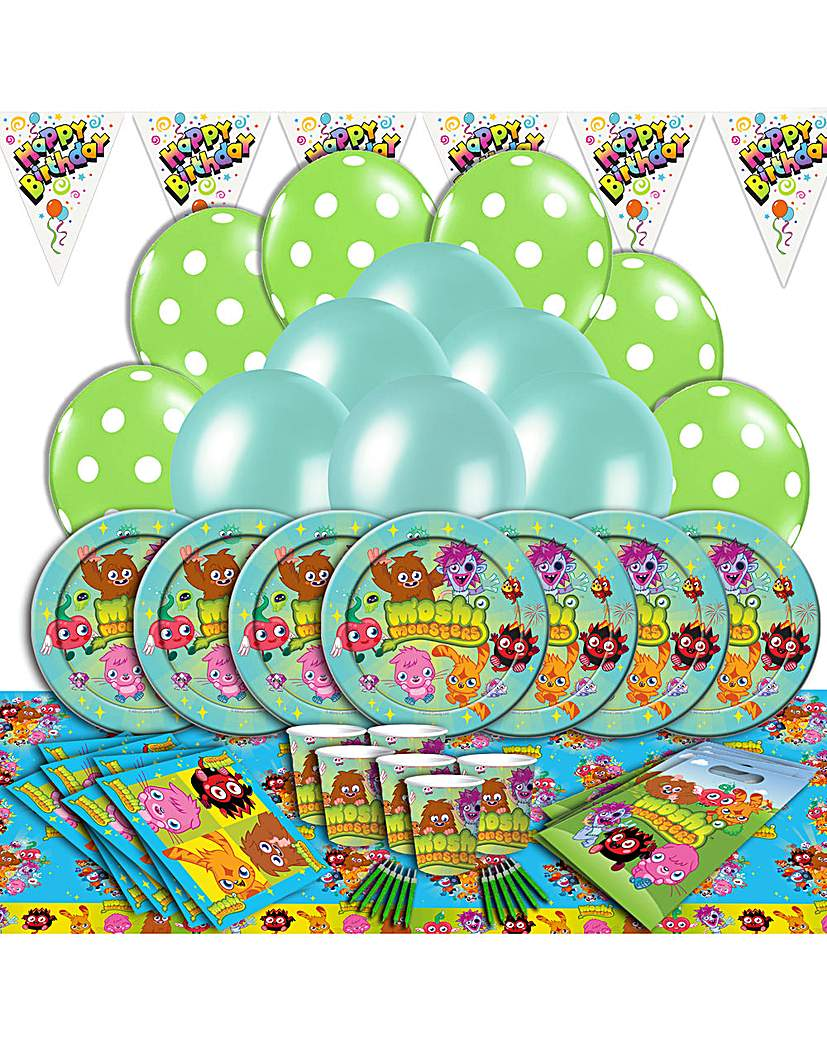 Image of Moshi Monsters Ultimate Party Kit for 16