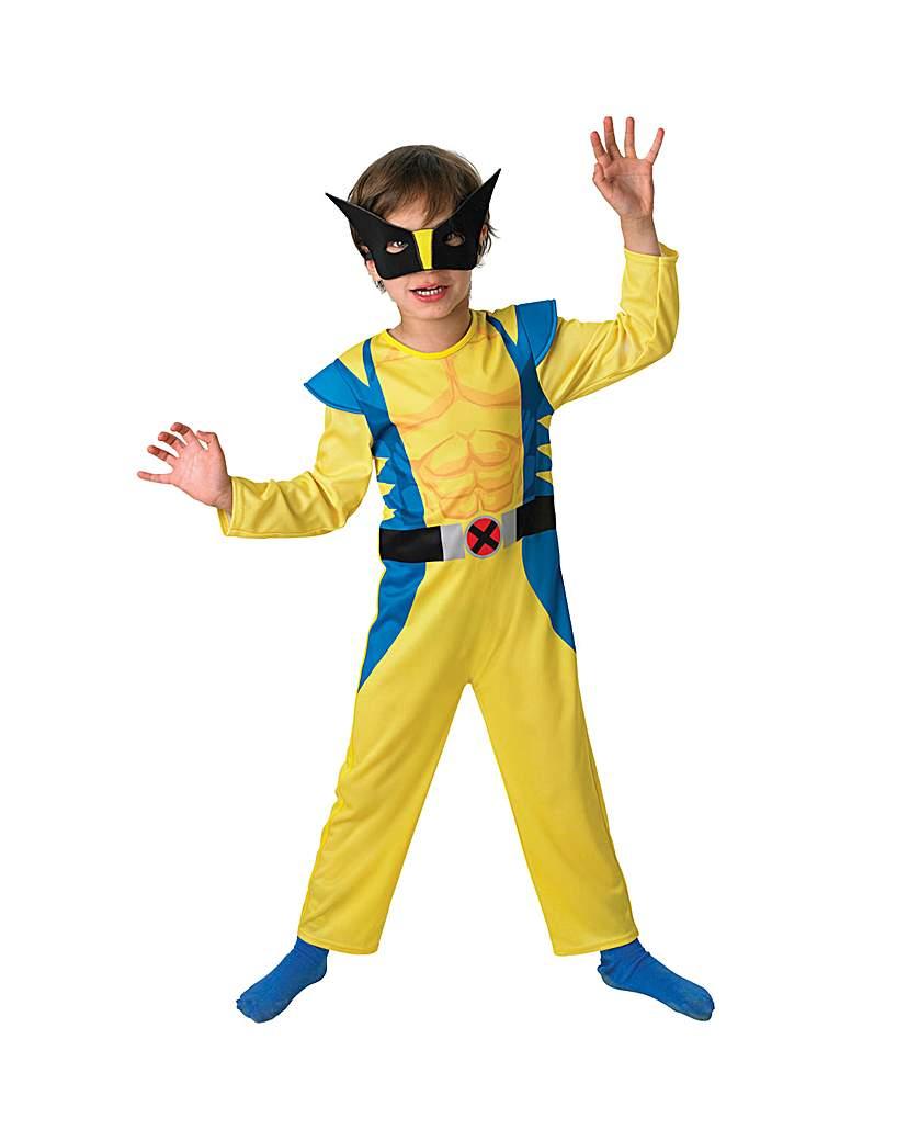 Boys Wolverine Classic Costume